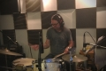 Keith Robinson Drum Tracking on Minister Daddy