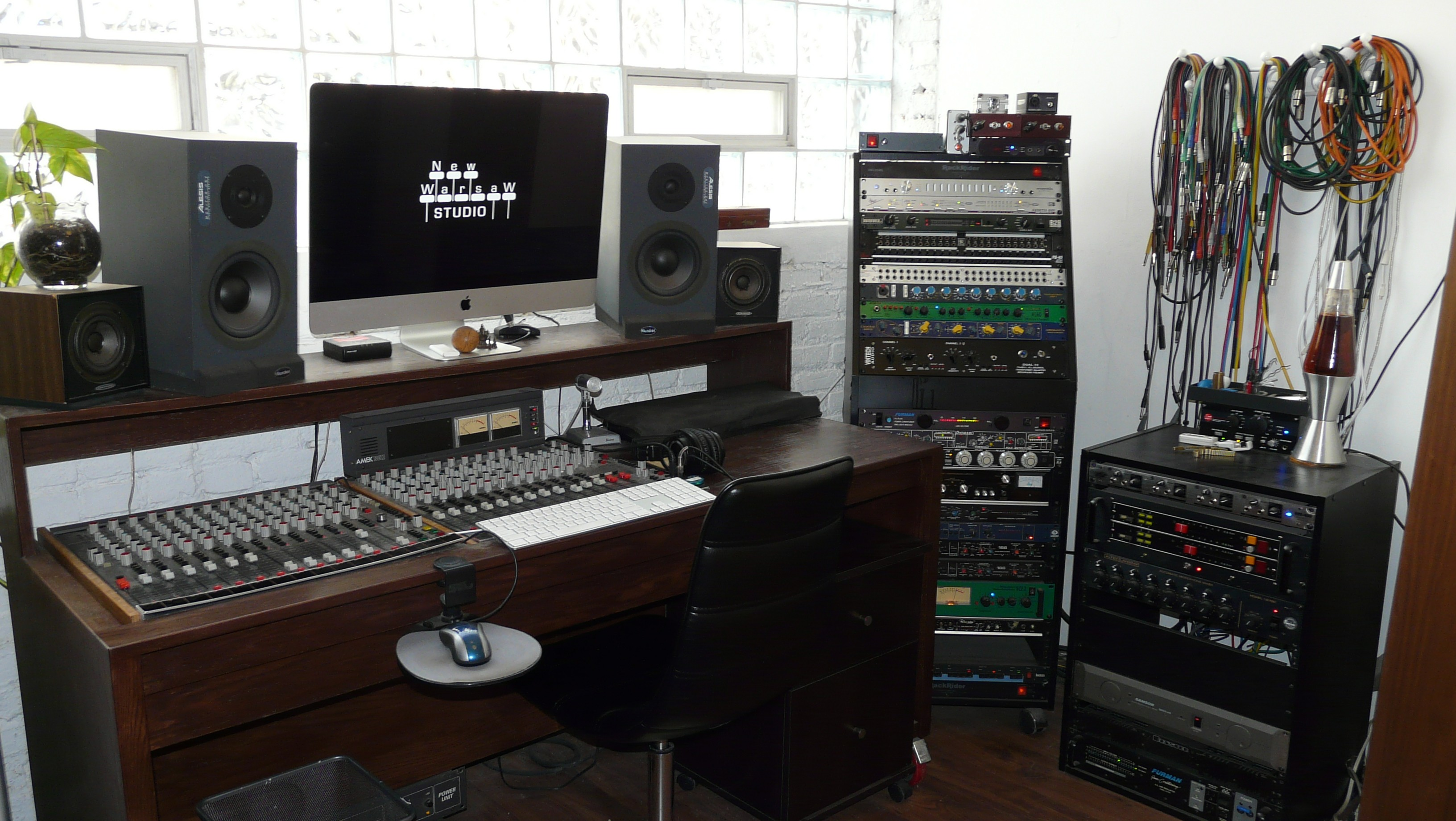 Mixer and Racks