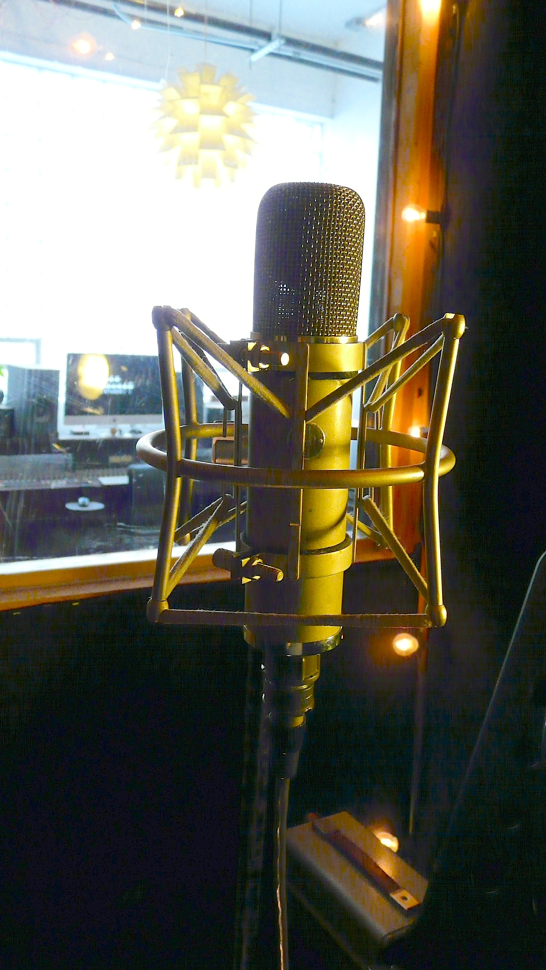 Neumann UM57 in the  Vocal Booth